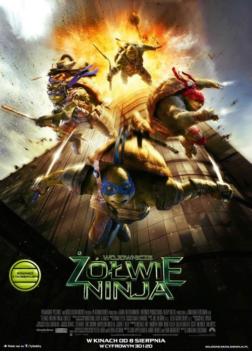"""""""Wojownicze żółwie ninja"""" 3D"""